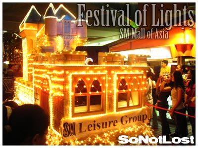 SM Mall of Asia Grand Festival of Lights Parade
