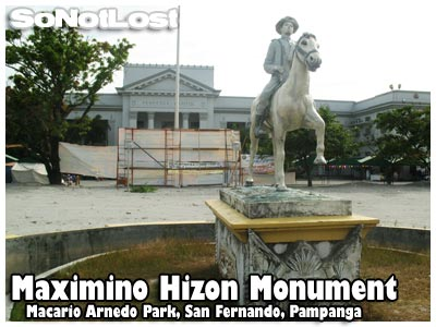 Maximino Hizon Monument
