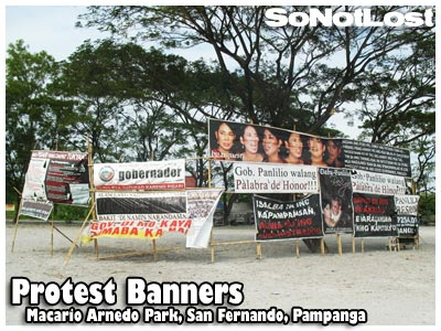 Protest Banners