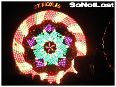 San Nicolas, Giant Lantern Festival 2008