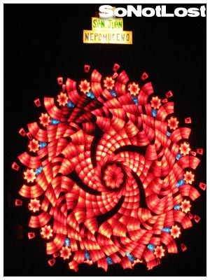 San Juan, Giant Lantern Festival 2008