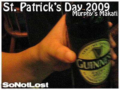a bottle of Guinness