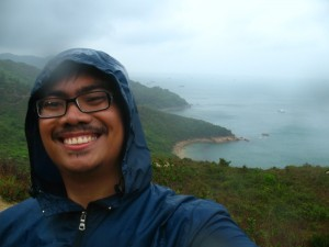 hiking at Lamma Island, Hong Kong