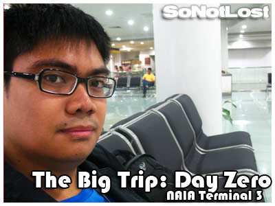 The Big Trip: Day Zero