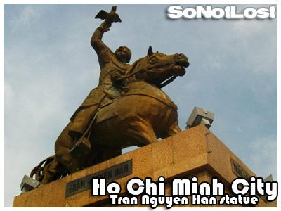 Tran Nguyen Han statue