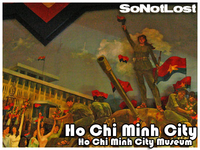 Ho Chi Minh City Museum mural