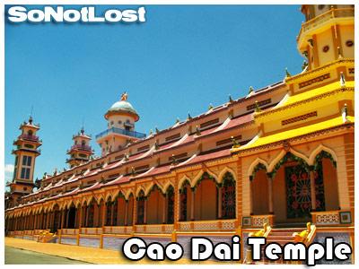 Cao Dai Temple (side)
