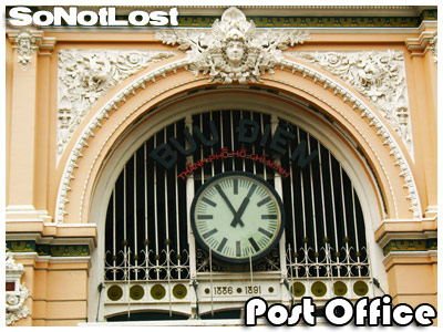 Post Office building detail