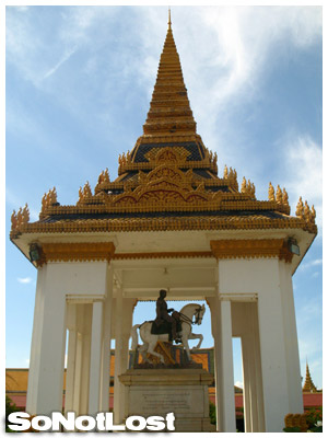 statue of King Norodom