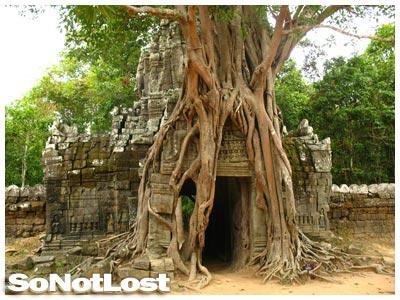 Ta Som, Angkor, Cambodia - Click to View Hi-Res Image