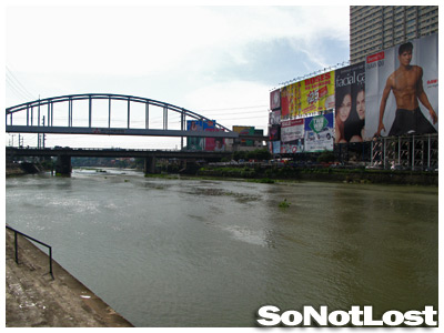 Guadalupe Bridge and Pasig River - Click to View Hi-Res Image