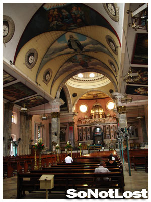 Inside Binondo Church (Chinatown, Manila) - Click to View Hi-Res Image