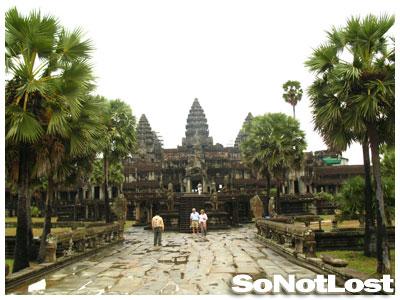 Angkor Wat After the Rain
