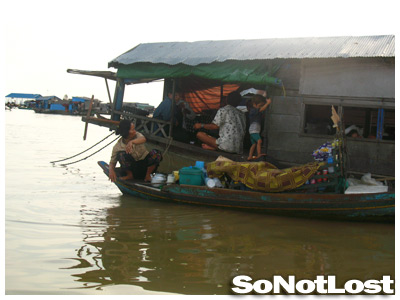 people living on Tonle Sap