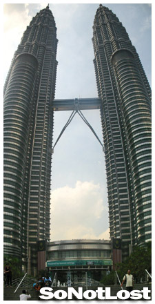 Petronas Towers, photostitched