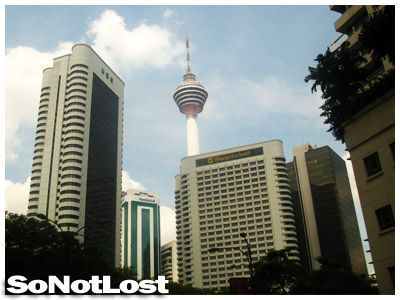 KL Tower from a distance
