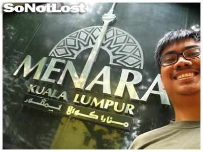 at Menara Kuala Lumpur