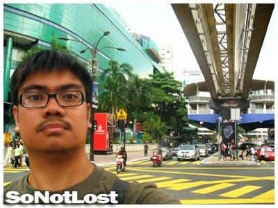 at Jalan Bukit Bintang