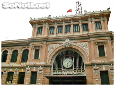 Post Office at Ho Chi Minh City - Click to View Hi-Res Image