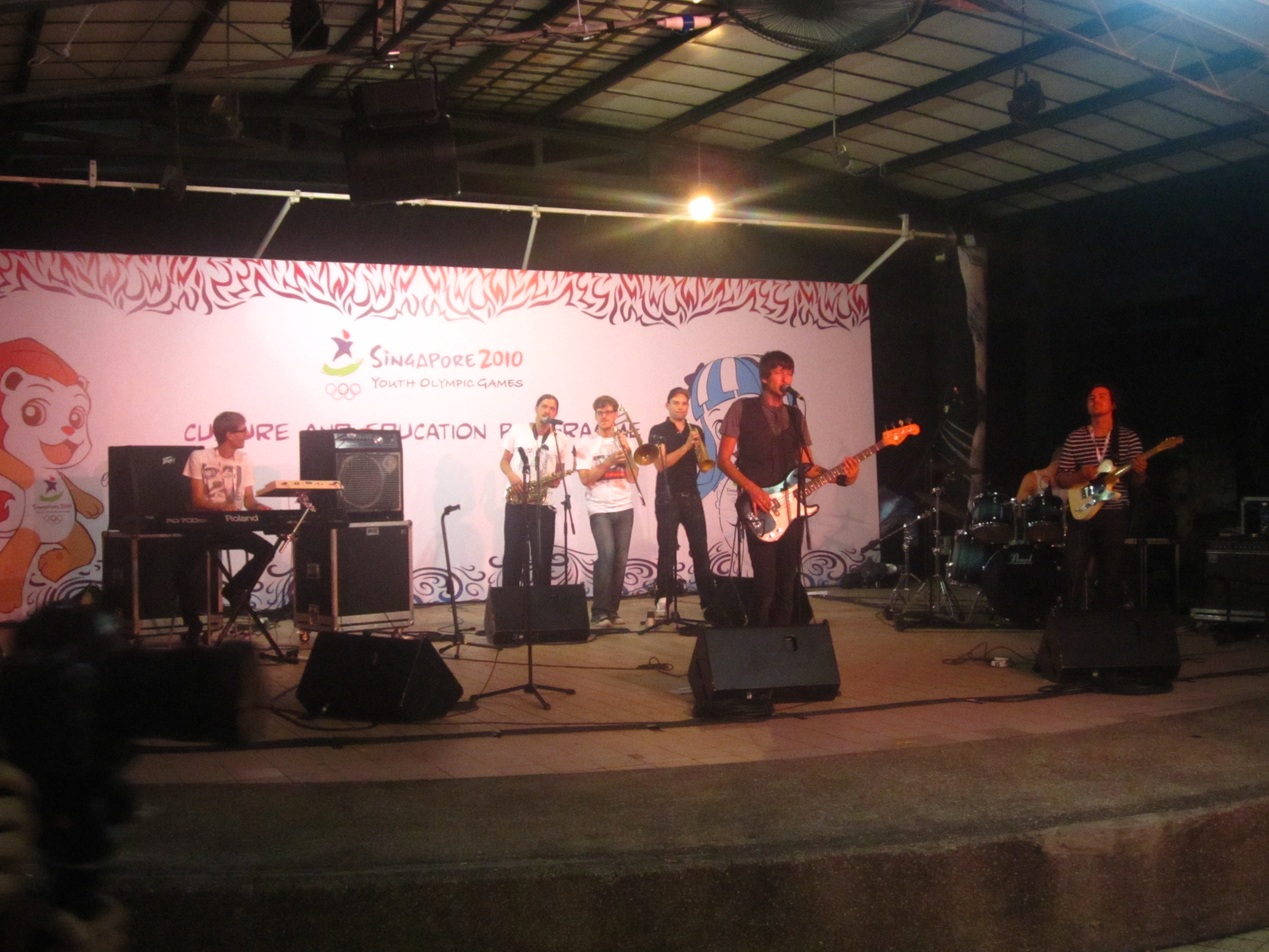YOG Photo of the Day: Swiss Band Starch at *SCAPE