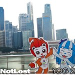 YOG Photo of the Day: Merly, Lyo, and the Singapore Skyline
