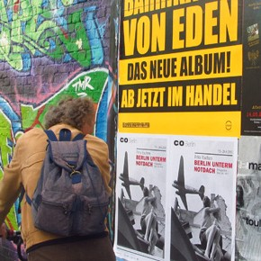 TravelTuesday Picture of the Week: Graffiti and Posters on a Berlin Street (Berlin, Germany)