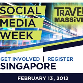 Travel Massive Singapore at Social Media Week on 13 February 2012