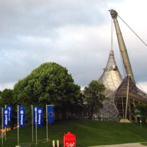 Picture of the Week: Olympiapark and Olympiaturm München (Munich, Germany)